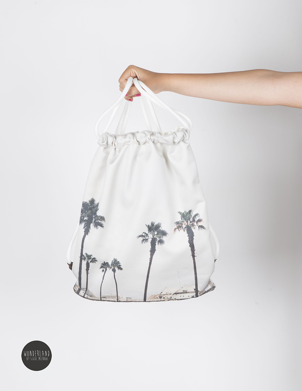 PALMS landscape printed backpack